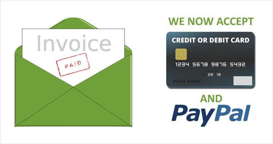 We Take Credit Cards Now!