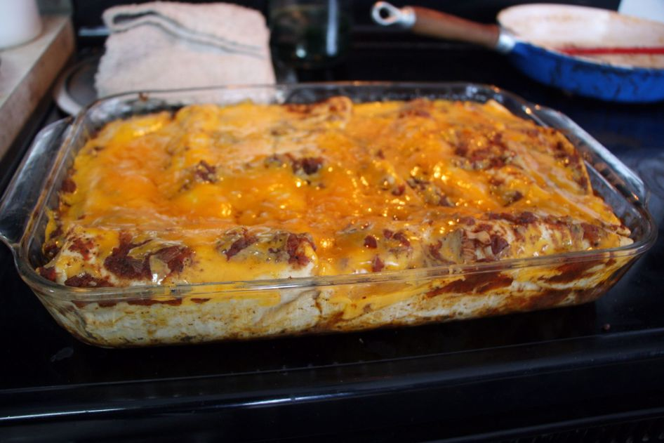 Want to make something special for dinner? how about some beef enchiladas?
