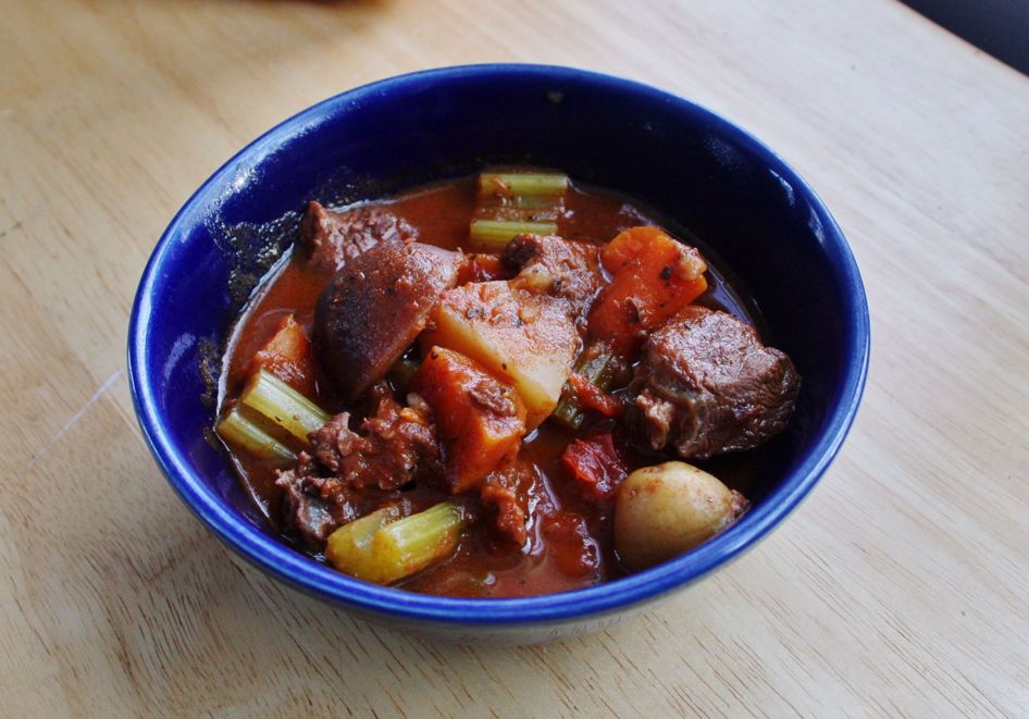 Happy New Year!! Here is a hearty beef stew recipe!